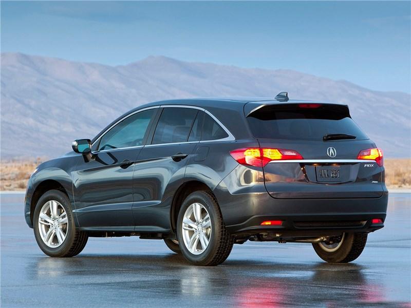 Acura RDX 2013 вид сбоку сзади