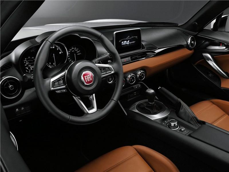 Fiat 124 Spider 2016 салон