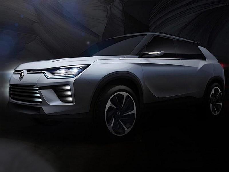 SsangYong представит на Женевском автосалоне новый кроссовер SIV-2