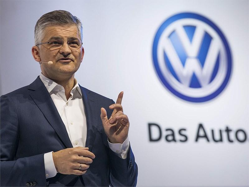 Руководитель американского подразделения Volkswagen подал в отставку