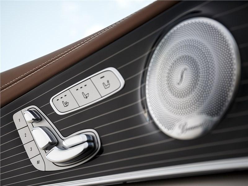 Mercedes-Benz E-Klasse 2017 аудиосистема Burmester