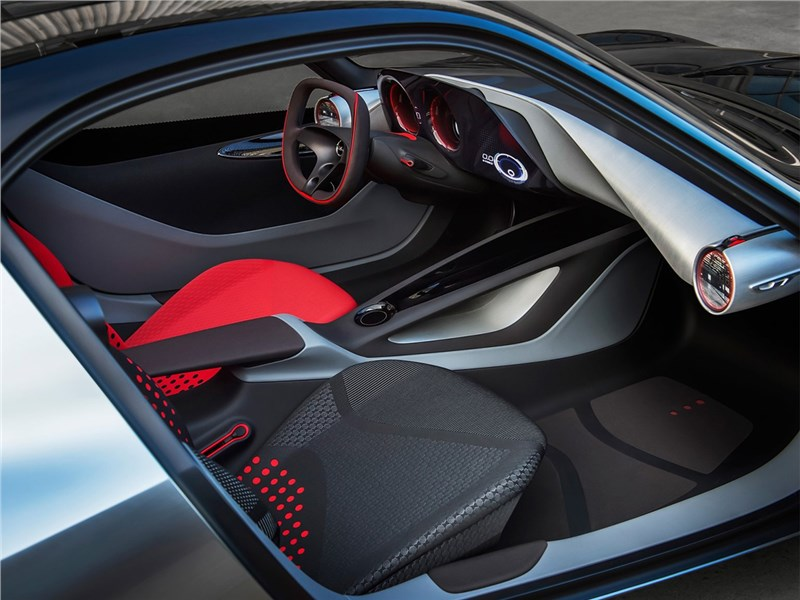 Opel GT concept 2016 салон