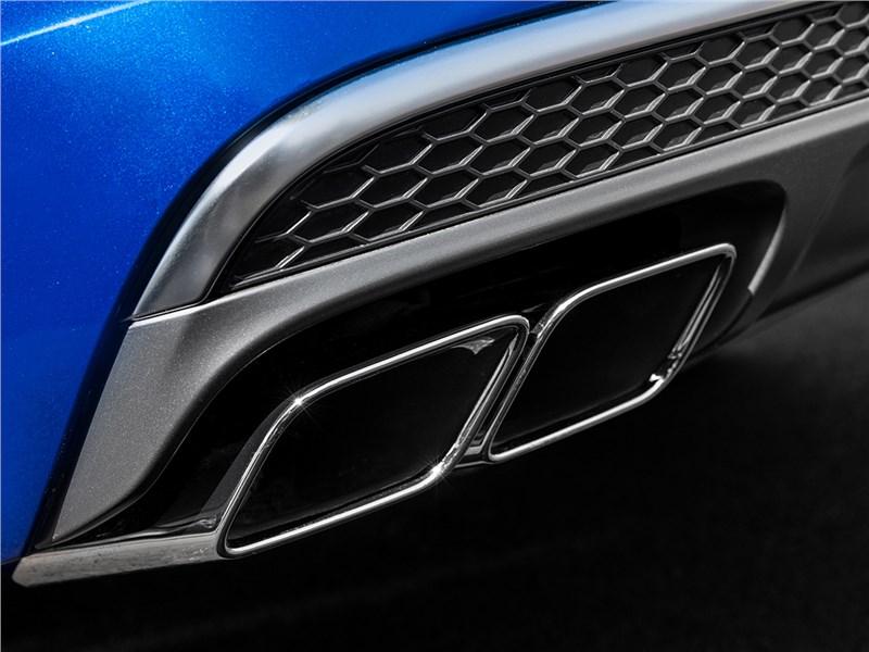 Audi SQ7 TDI 2017 выхлопные трубы