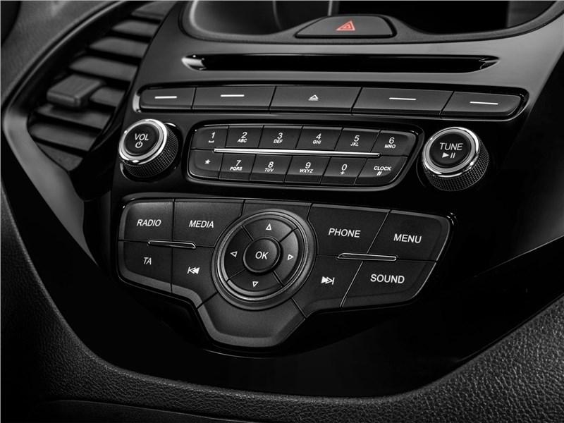 Ford Ka+ 2017 центральная консоль