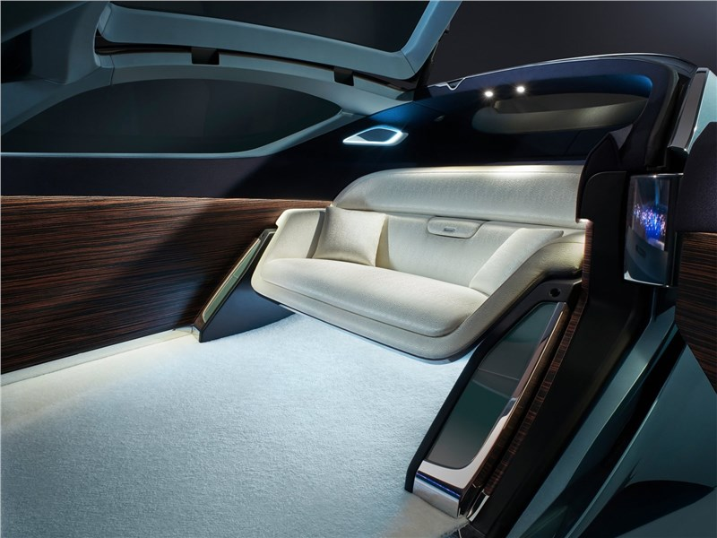 Rolls-Royce Vision Next 100 concept 2016 салон