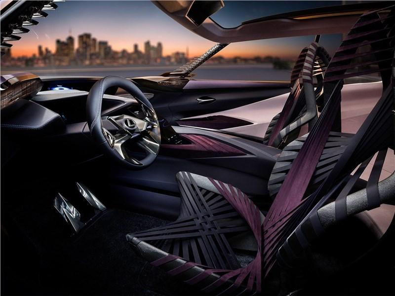 Lexus UX concept 2016 передние кресла