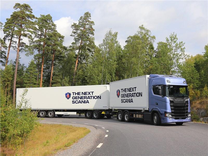 Scania S 2016 автопоезд