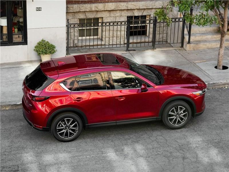Mazda CX-5 2017 вид сверху