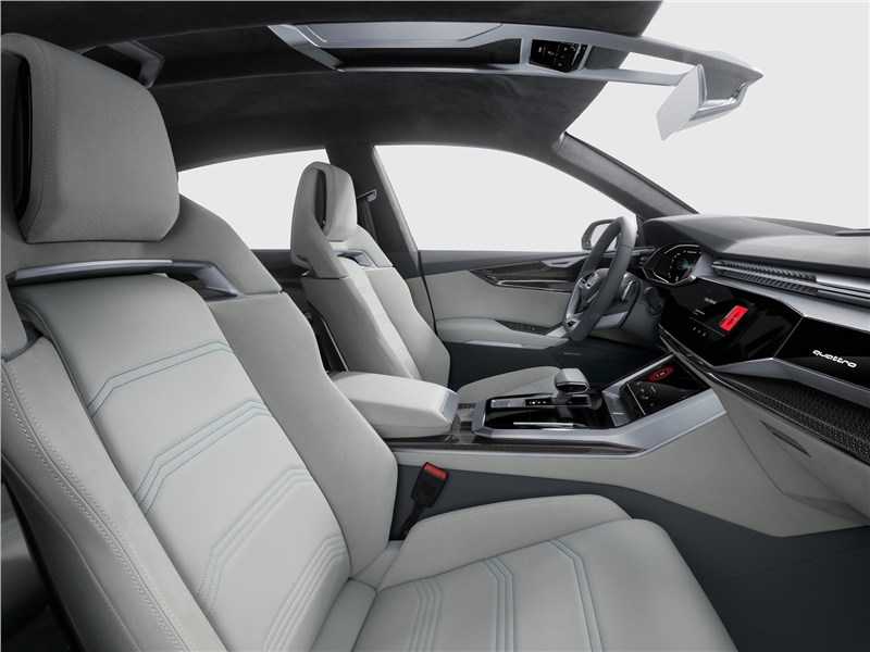 Audi Q8 concept 2017 передние кресла