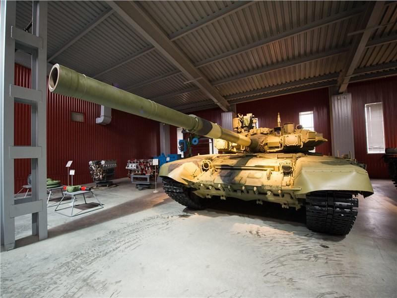 В музее «УралВагонЗавода» можно увидеть не только серийные танки, но и опытные образцы