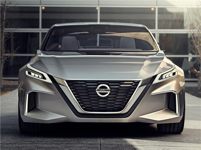 Nissan Vmotion 2.0 Concept 2017 вид спереди