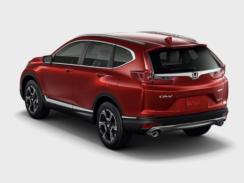 Новая Honda CR-V с третьим рядом сидений