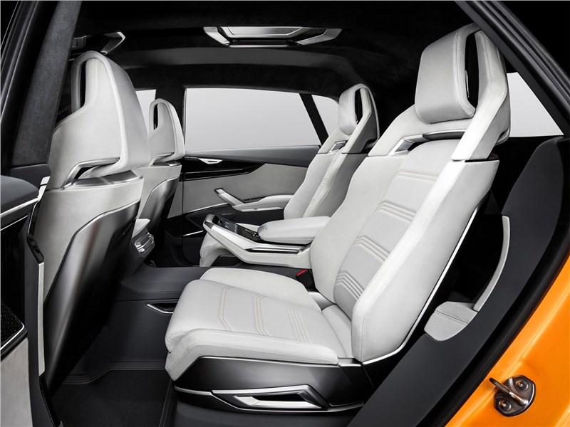 Audi Q8 Sport Concept 2017 задний диван