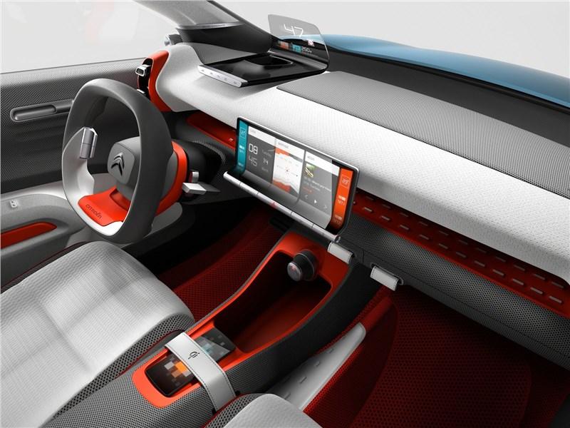 Citroen C-Aircross Concept 2017 салон