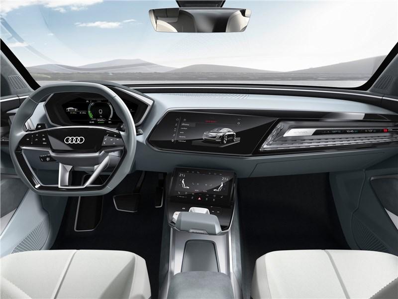 Audi e-tron Sportback Concept 2017 салон