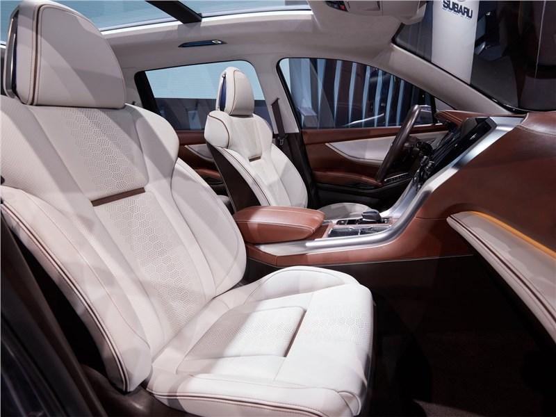 Subaru Ascent SUV Concept 2017 передние кресла