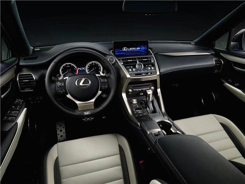Lexus NX 2018 салон