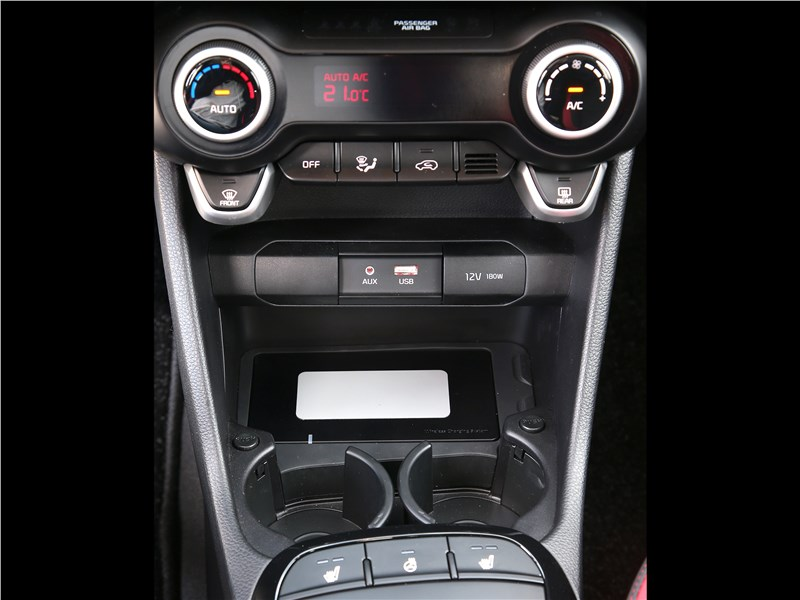 Kia Picanto GT Line 2017 центральная консоль