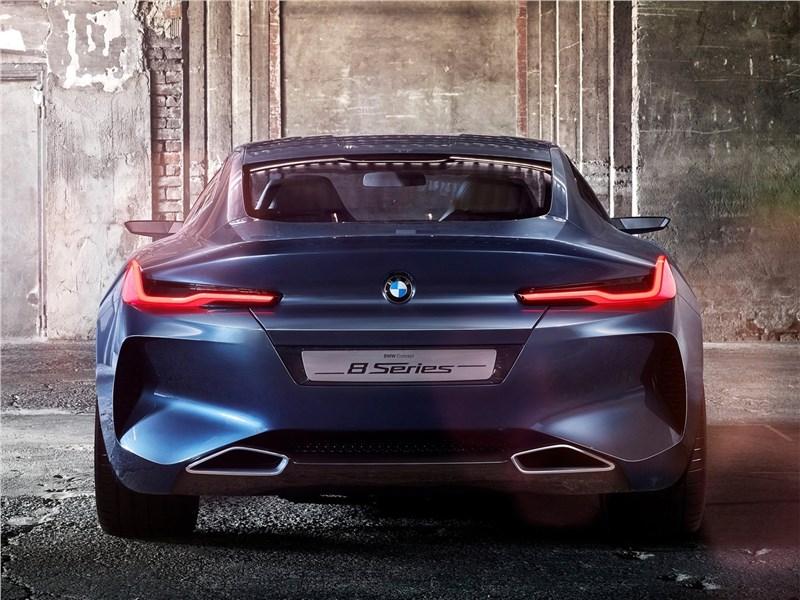 BMW 8-Series Concept 2017 вид сзади