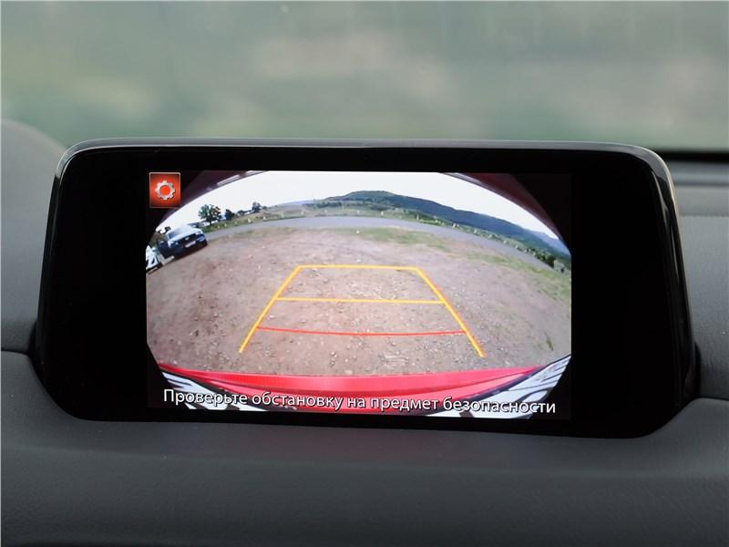 Mazda CX-5 2017 монитор
