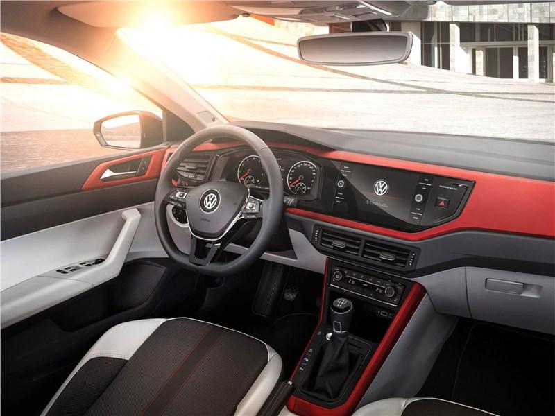 Volkswagen Polo 2018 водительское место