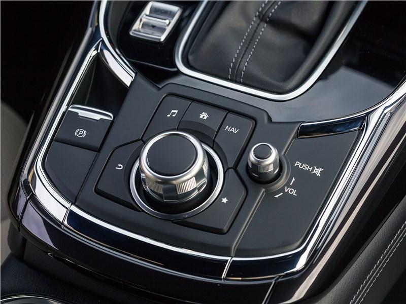 Mazda CX-9 2016 управление магнитолой