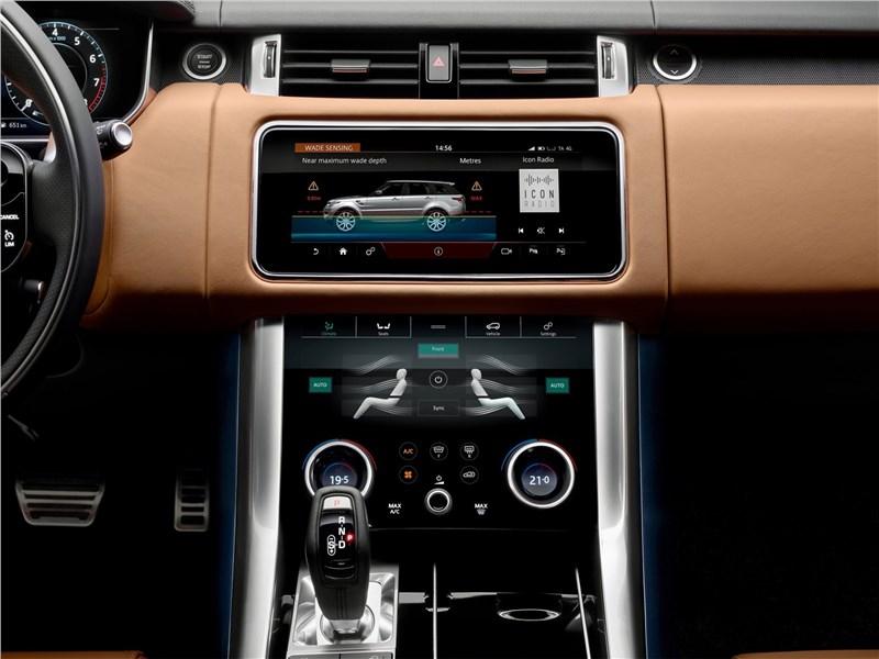 Land Rover Range Rover Sport 2017 центральная консоль