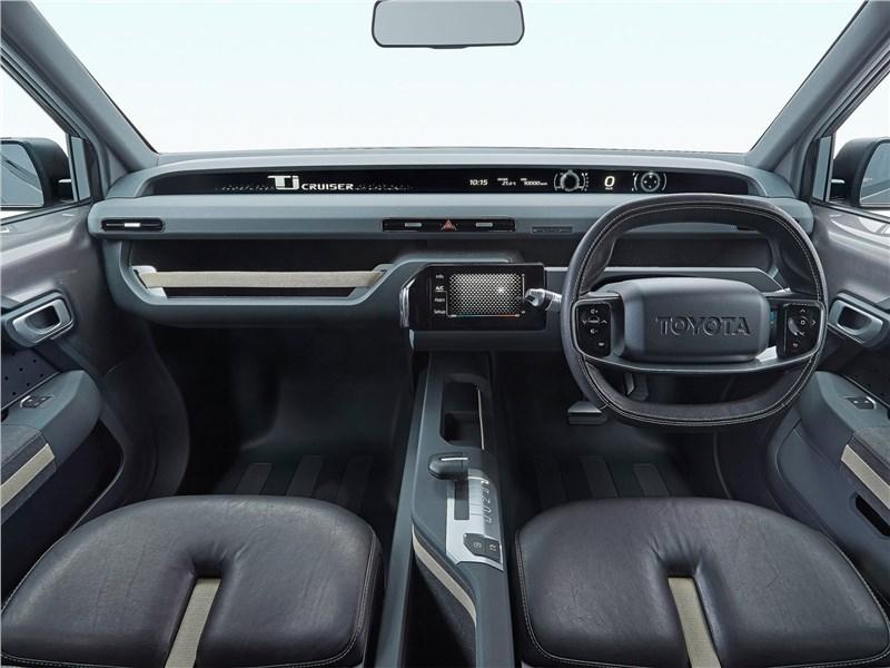 Toyota Tj Cruiser Concept 2017 салон