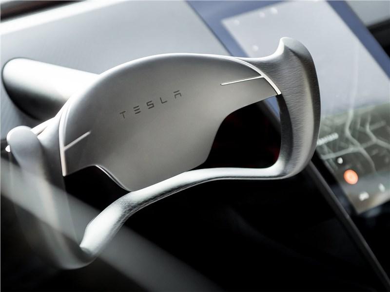 Tesla Rodster Concept 2020 руль