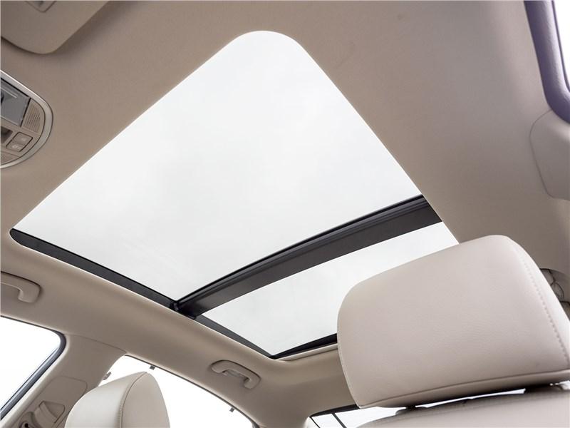Hyundai Sonata 2018 панорамная крыша