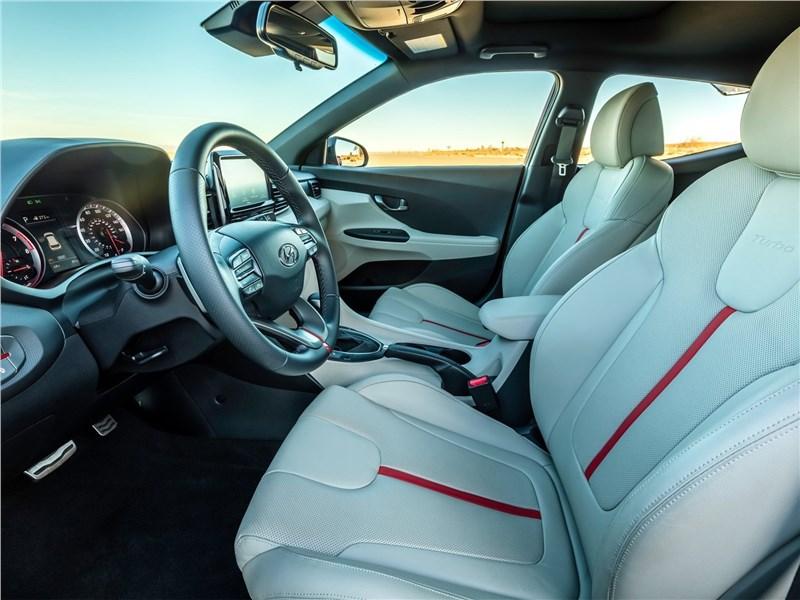 Hyundai Veloster 2019 передние кресла