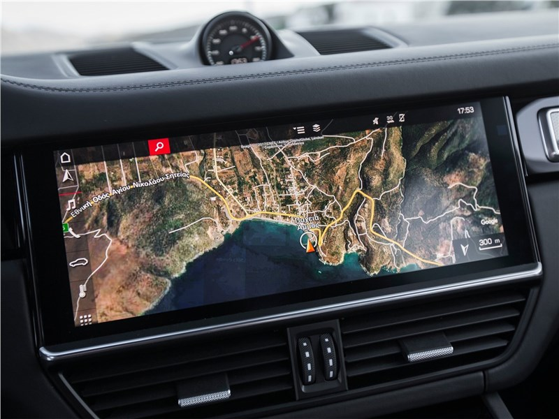 Porsche Cayenne 2018 монитор