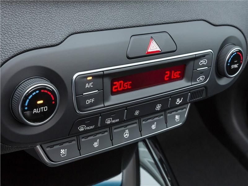 Kia Sorento Prime 2018 управление климатом