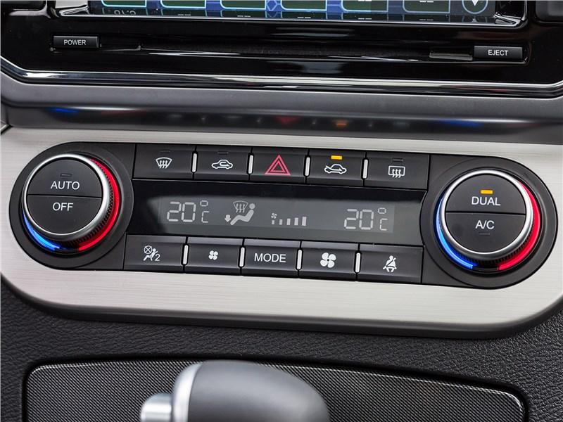 Haval H6 Coupe 2017 управление климатом