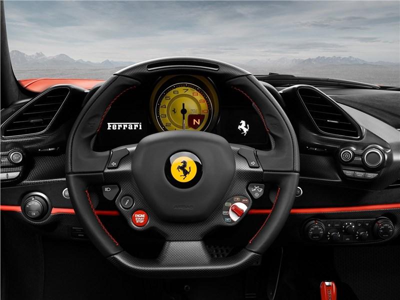 Ferrari 488 Pista 2019 салон