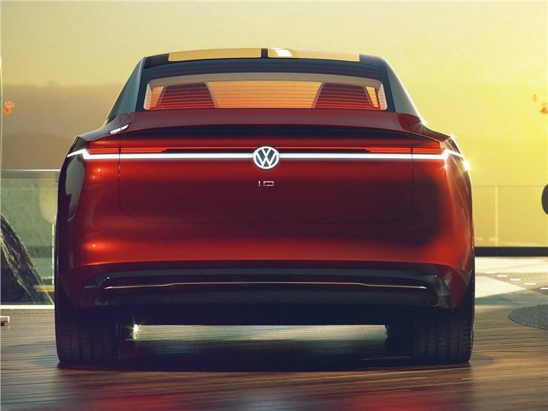 Volkswagen ID Vizzion Concept 2018 вид сзади