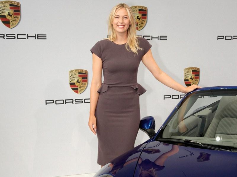 Porsche выбрала Марию Шарапову в качестве рекламного лица