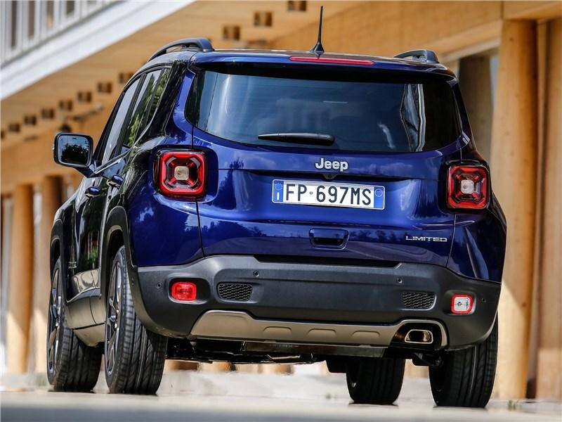 Jeep Renegade 2019 вид сзади