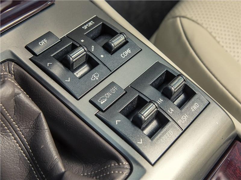Lexus GX 460 2014 выбор режимов