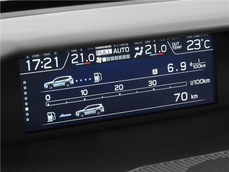 Subaru Forester 2019 верхний 5-дюймовый дисплей