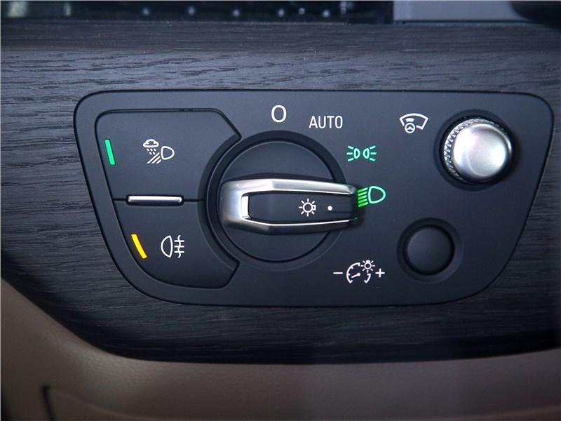 Audi A5 Sportback 2017 управление светом