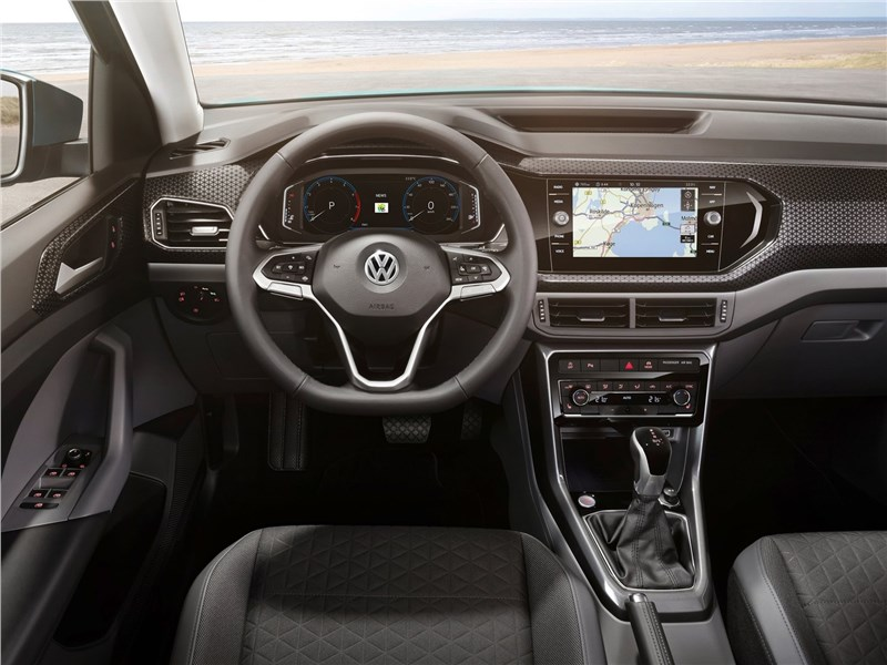 Volkswagen T-Cross 2019 салон