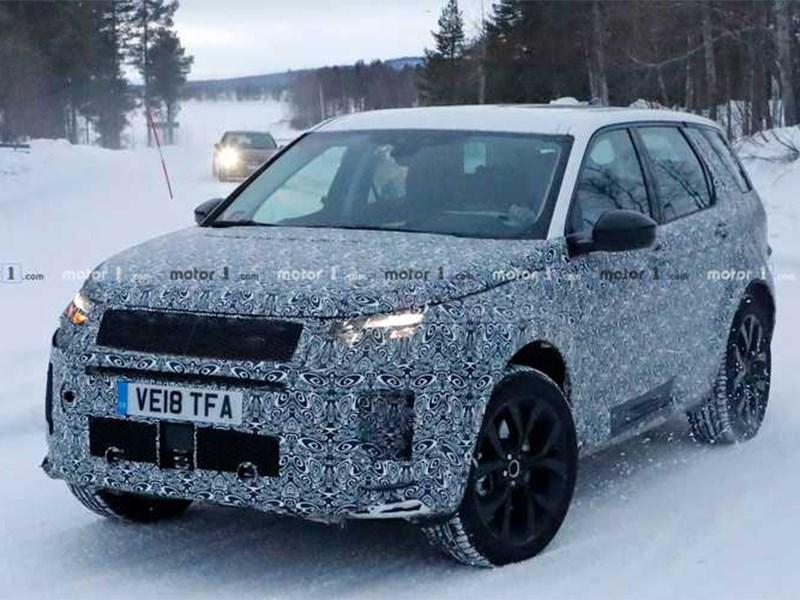 Land Rover вывел на тесты обновленный Discovery Sport Фото Авто Коломна