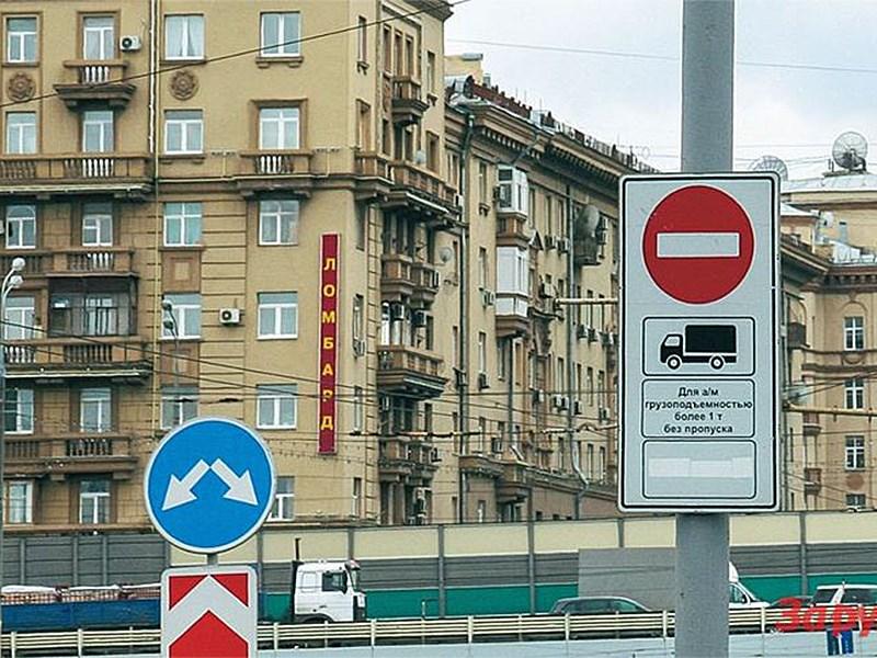 В столице изменился график передвижения грузовиков