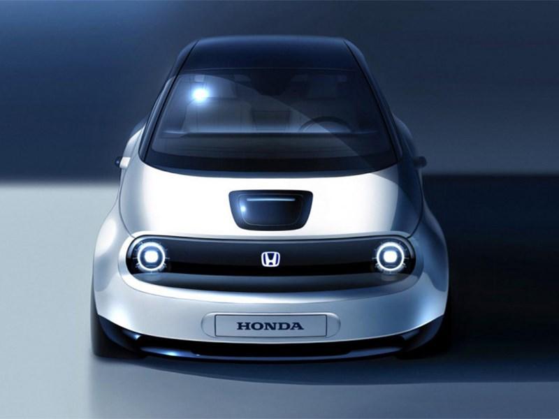 Honda покажут новый электрокар в Женеве