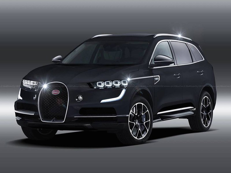 Bugatti обойдется без кроссоверов Фото Авто Коломна