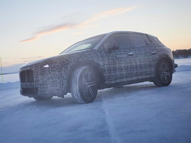 BMW начал испытания электро кроссовера Фото Авто Коломна