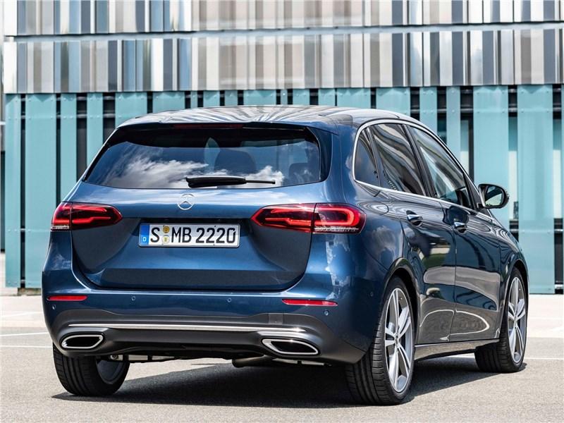 Mercedes-Benz B-Class 2019 вид сзади