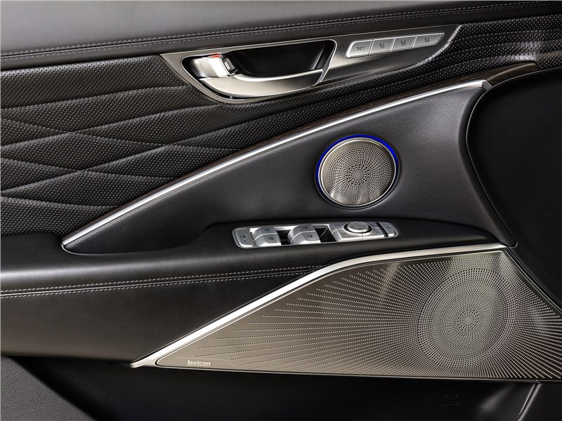 Kia K900 2019 отделка двери