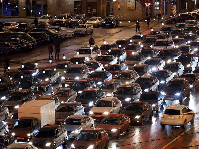 Вечерний час пик начнется раньше Фото Авто Коломна